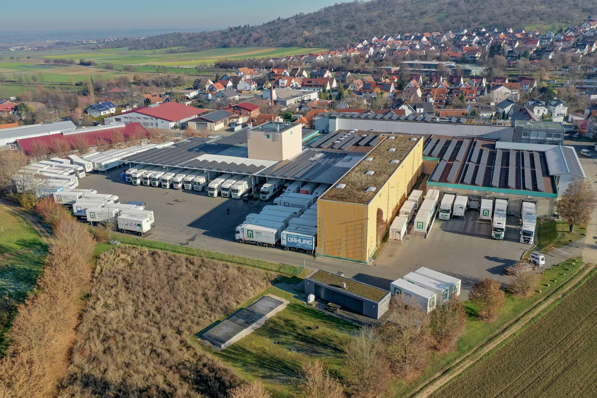 Hauptsitz von BTS Logistik in Owen