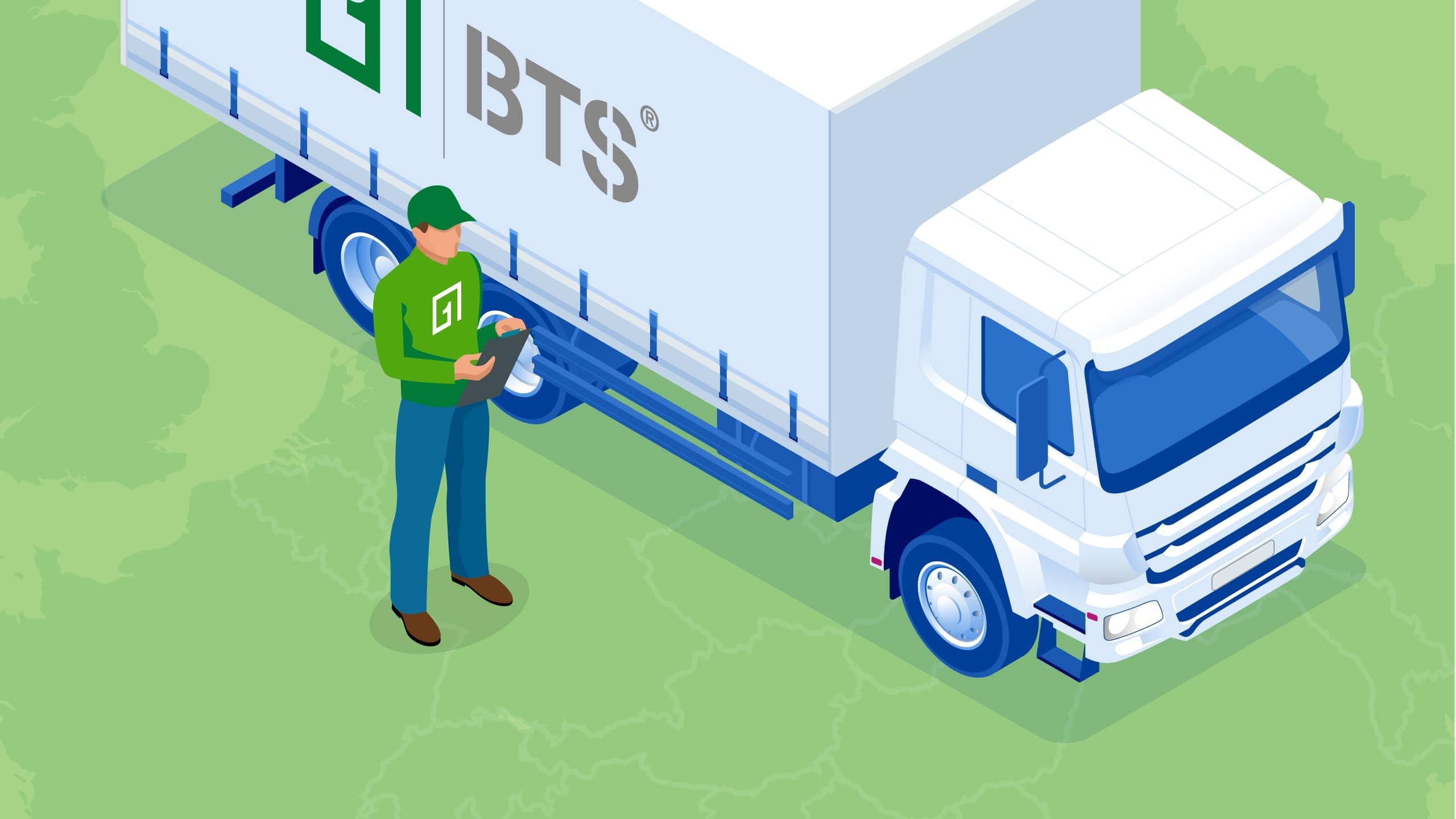 BTS Logistikunternehmen Küchenmöbel