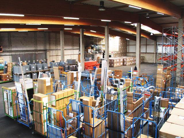 BTS Logistik- und Speditionsunternehmen von Küchenmöbel