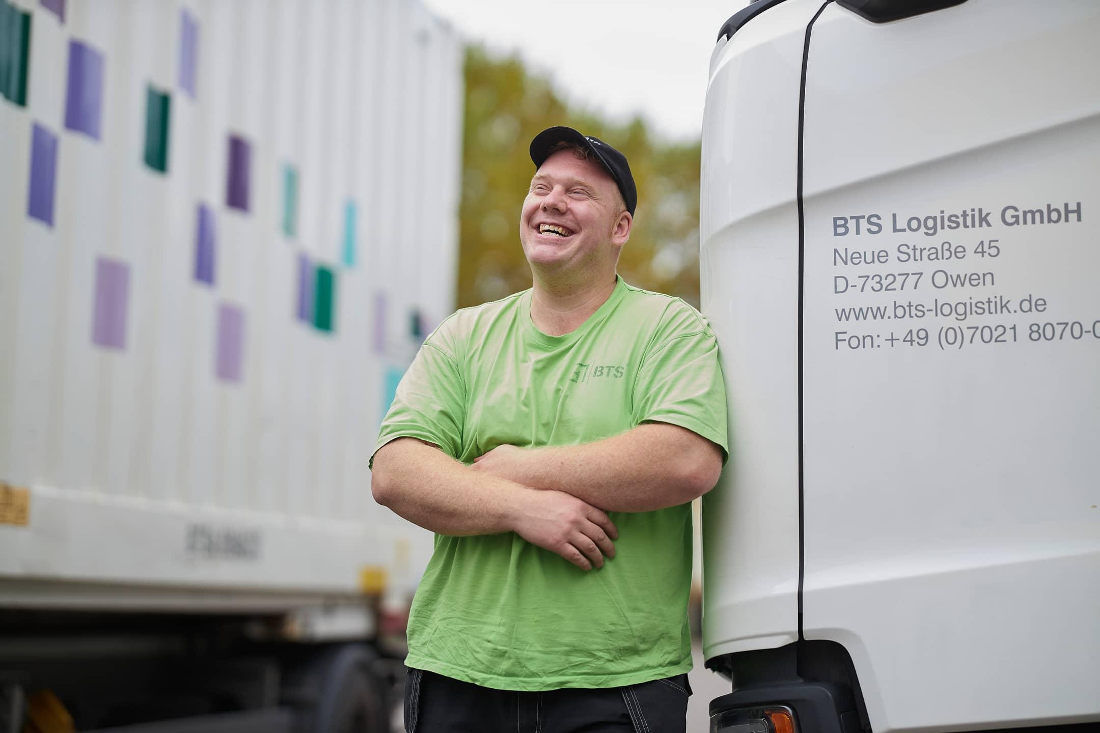 BTS Logistik GmbH in Owen Fahrer