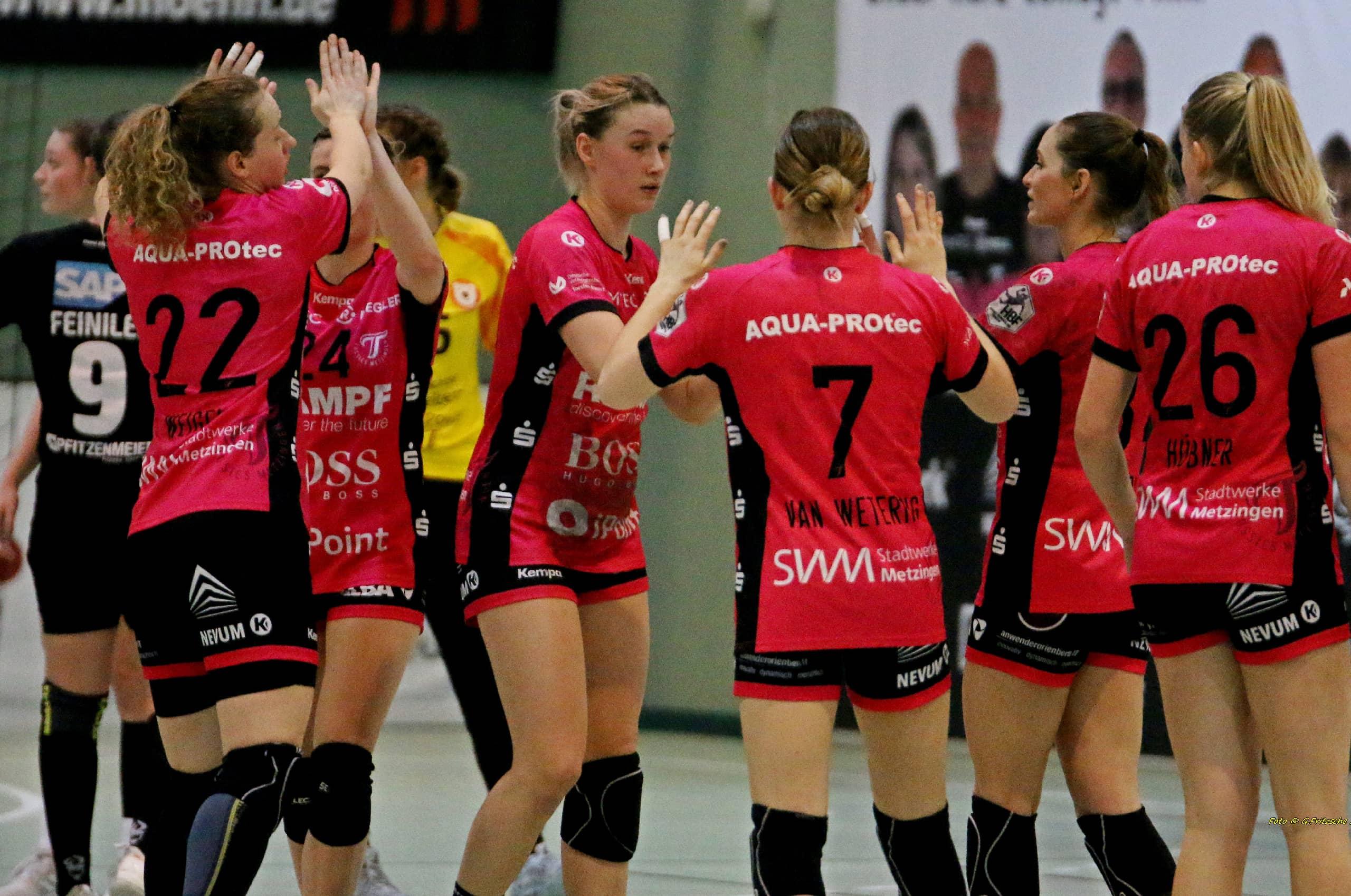 BTS Logistik Sponsoring Frauen Handball TuSsies