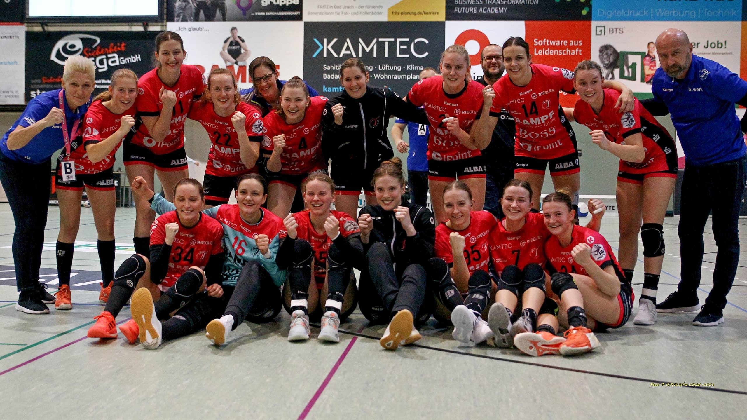 BTS Logistik Sponsoring Frauen Handball Metzgen